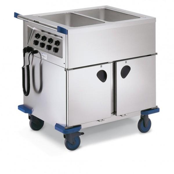 Blanco SAG 2 Speisenausgabewagen mit 2 Wärmeschränken
