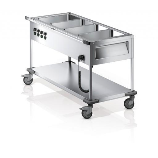 Blanco Speisenausgabewagen SAW L mit 4 Becken