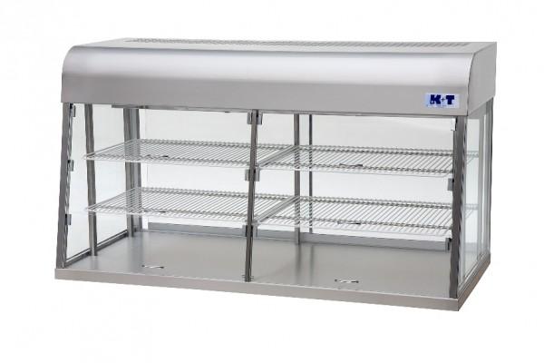 K+T Aufsatzkühlvitrine CWS 31 Kundenseitig mit Entnahmeklappen.