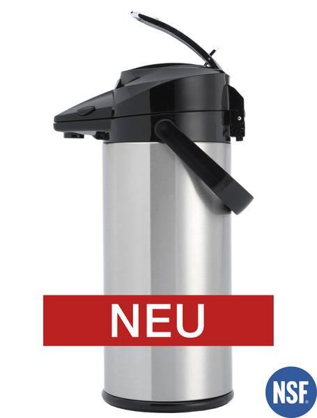 Animo Pumpthermoskanne 2,1 Liter für M-Linie - Innenbehälter aus Edelstahl