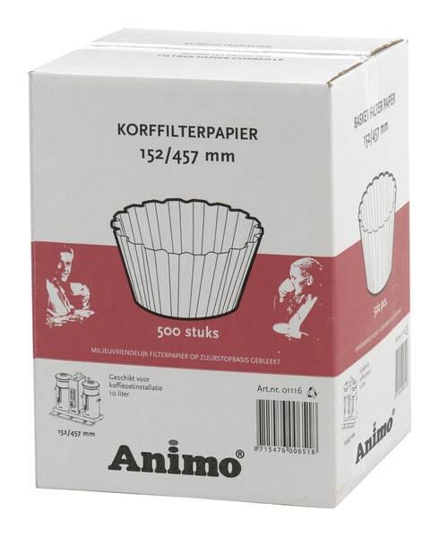 Animo Korbfilterpapier 152/457 für Combiline CB 10