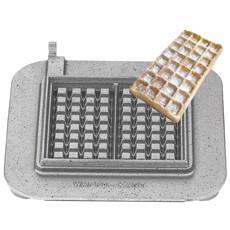 Neumärker Backsystem Kantwaffel - auswechselbare Backplatte für Waffeleisen