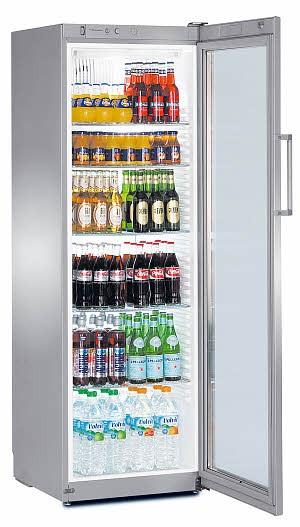 Liebherr FKvsl 4113 Premium Getränkekühlschrank mit Glastür und LED