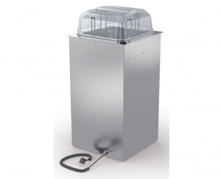 BLANCO Tellerspender TSE-H1 18-33 zum Einbau beheizbar Tiefe 800 mm