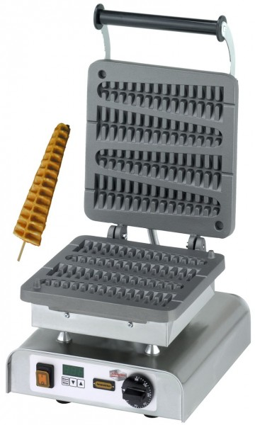 Neumärker Lolly-Waffel 1 Grauguss-Platte Digitaltimer