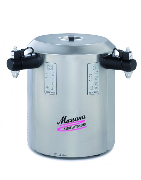 Mussana DUO Sahnemaschine 2x6-Liter Duo