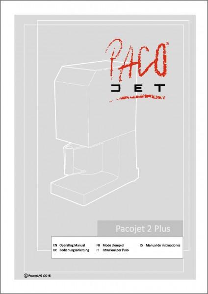 Pacojet 2 PLUS Bedienungsanleitung 5-sprachige Ausgabe