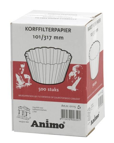Animo Korbfilterpapier 101/317 für Combiline CB 5