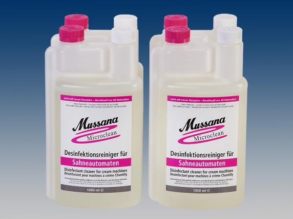 Mussana Microclean all in one Cleaner NEU 4 x 1 Liter