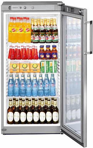 Liebherr FKvsl 2613 Premium Getränkekühlschrank mit Glastür und LED