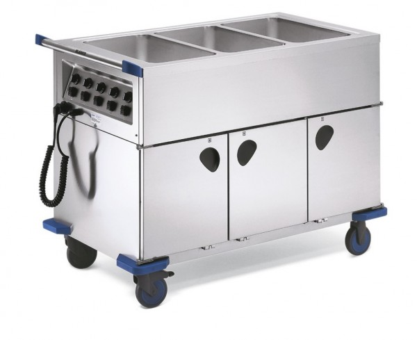 Blanco SAG 3 Speisenausgabewagen mit 3 Wärmeschränken