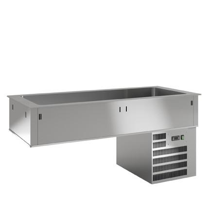 K+T Umluftkühlwanne UKW 3/1 D - 150.